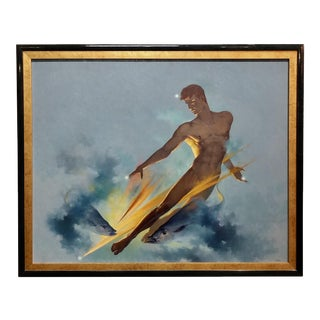 Alexander Canedo - Art Deco Nude Male - Oil Painting - C1930s