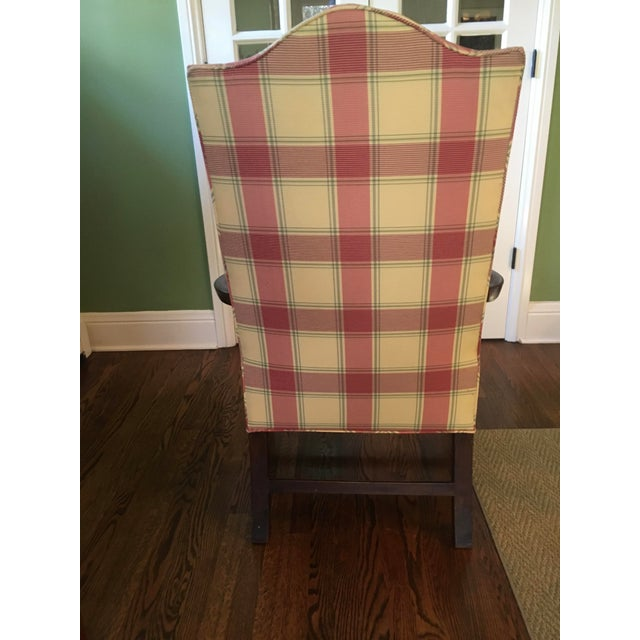 Hepplewhite Early 19th Century Vintage Hepplewhite Lolling Chair For Sale - Image 3 of 9