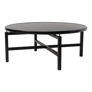 Mid Century Modern Michael Taylor Baker New World Collection Floating Top Coffee Table For Sale