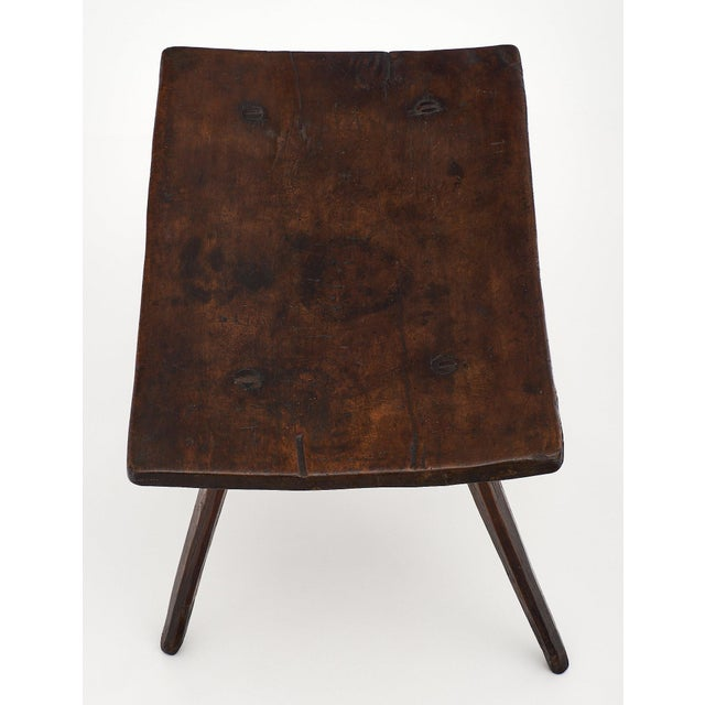 Early 18th Century Italian Farm Wood Side Table For Sale - Image 5 of 10