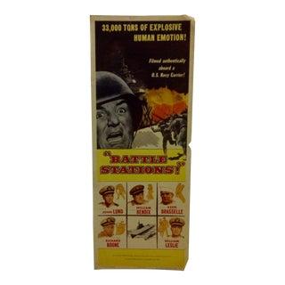 """""""Battle Stations"""" Vintage Movie Poster For Sale"""