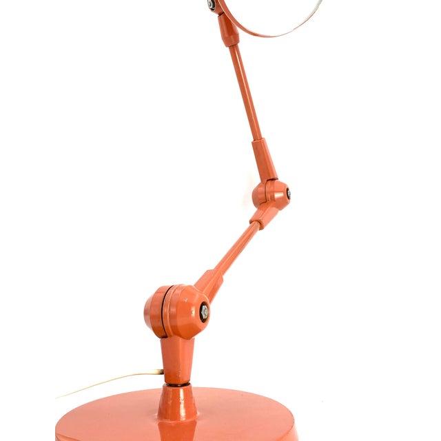 1960s Stilnovo Mod. Aure Original Painting Pink Table Lamp For Sale - Image 11 of 13