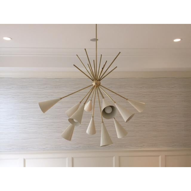 Contemporary Blueprint Lighting 2017 Grand Bouquet Chandelier For Sale - Image 3 of 8