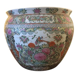 Vintage Late 19th Century Chinese Ceramic Bowl For Sale