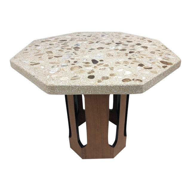Harvey Probber Terrazzo Top Side Table For Sale