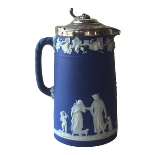 Antique Wedgwood Jasperware Tankard For Sale