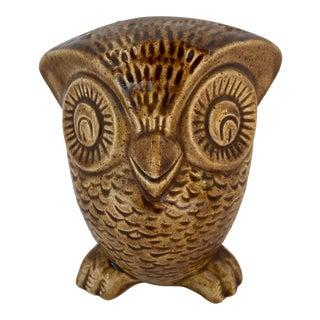 1970's Modern Ceramic Owl For Sale