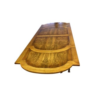 French Extendable Fruitwood Dining Room Table For Sale