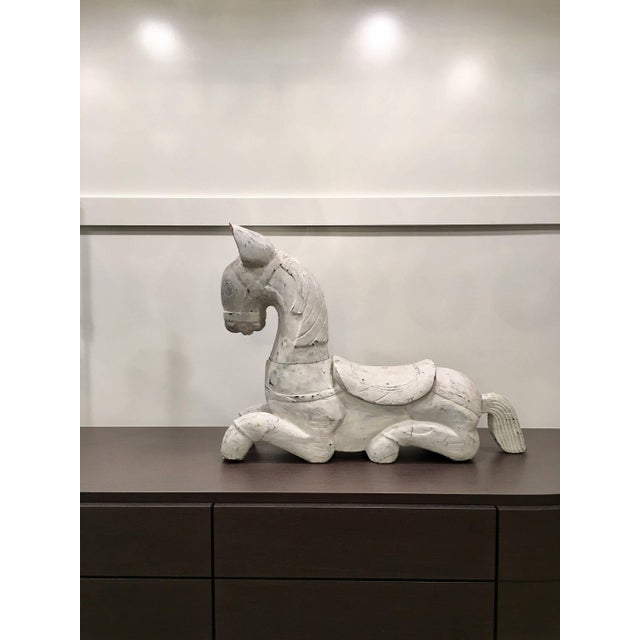 20th Century Folk Art Horse Sculpture For Sale - Image 11 of 11