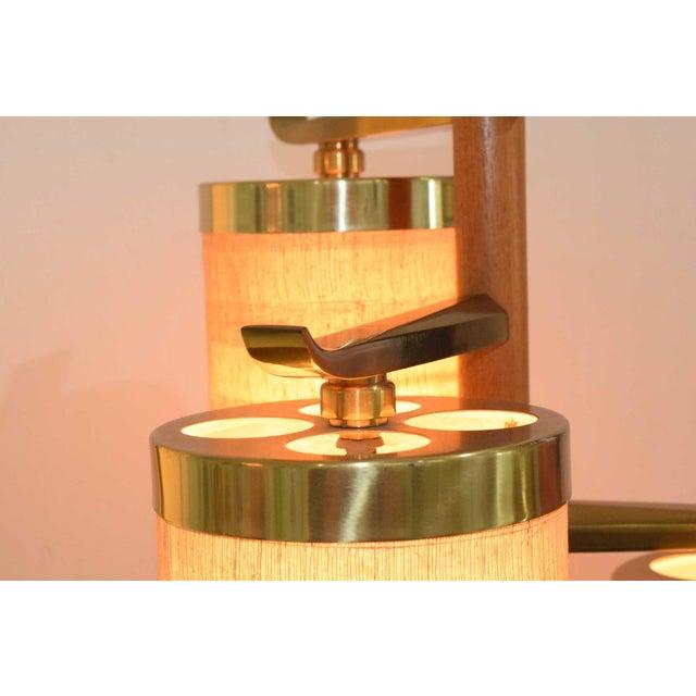 Stiffel MId-Century Pole Floor Lamp - Image 4 of 7