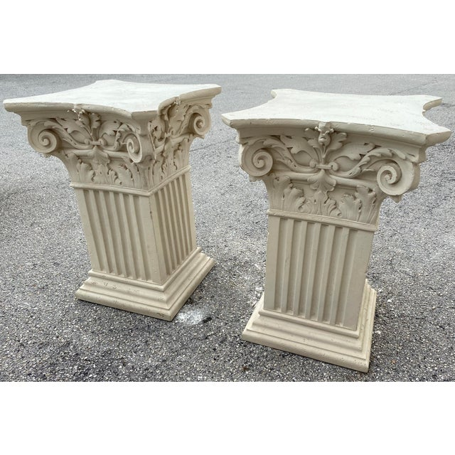 1980s Corinthian Acanthus Roman Dining Table Greek Table Base - 2 Pieces For Sale - Image 10 of 10