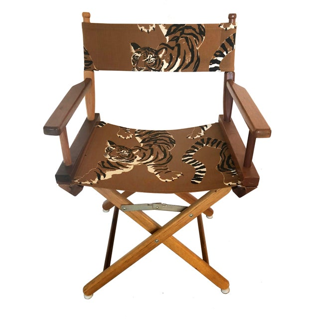 Le Tigre Directors Chair For Sale - Image 10 of 10