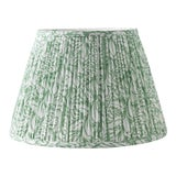 "Image of Fern in Moss 18"" Lamp Shade, Green For Sale"