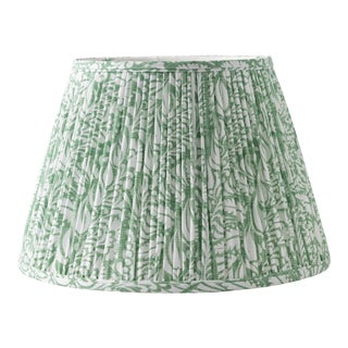 "Fern in Moss 18"" Lamp Shade, Green For Sale"