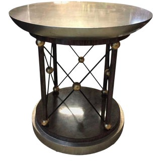 Hollywood Regency Style Gueridon Coffee Table For Sale
