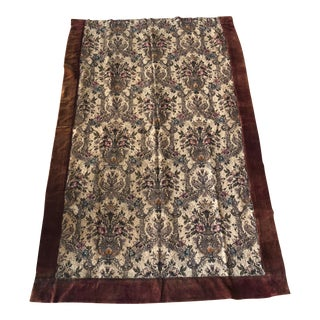 Antique Scottish Wall Hanging/ Tapestry/Textile For Sale