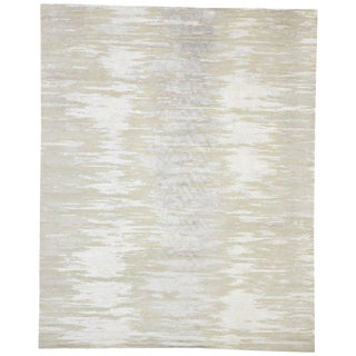 Nordic Ombré Area Rug With Neutral Colors - 07'11 X 09'09 For Sale