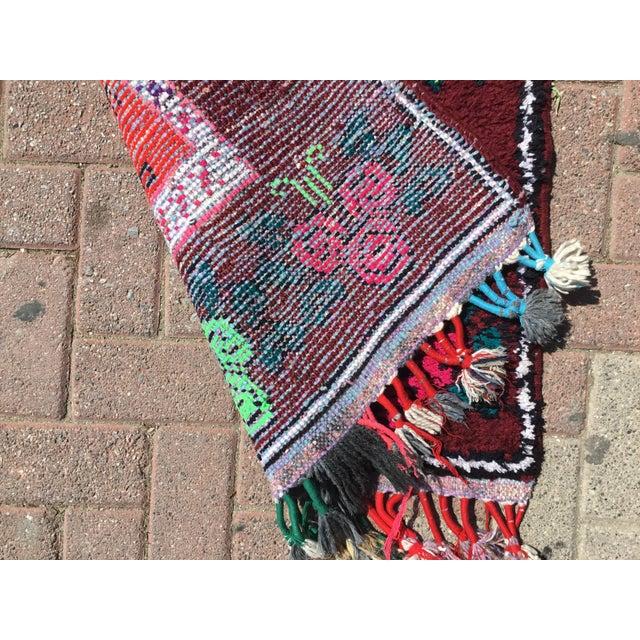 Textile Vintage Turkish Runner Rug - 2′11″ × 11′10″ For Sale - Image 7 of 7