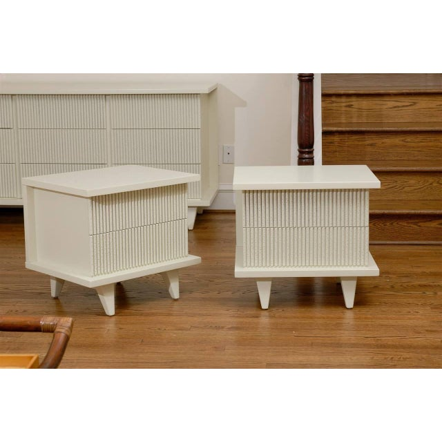 Stunning End Tables or Night Stands by American of Martinsville For Sale - Image 10 of 11