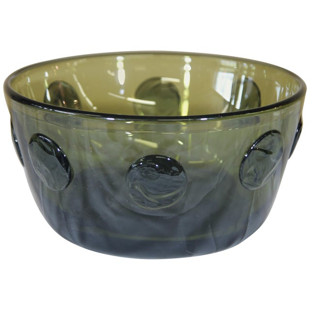 Rare Severin Broby Bowl for Hadeland For Sale In New York - Image 6 of 6