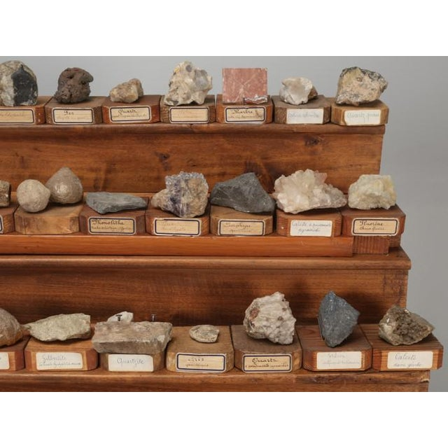 1891 French School Mineral Specimen Collection - 200 Pc. Set For Sale - Image 9 of 13