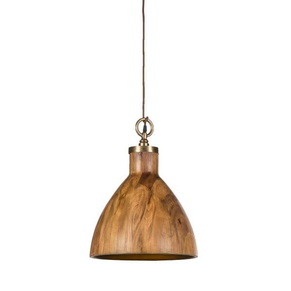Contemporary Wooden Big Sur Pendant Light For Sale In Charlotte - Image 6 of 6