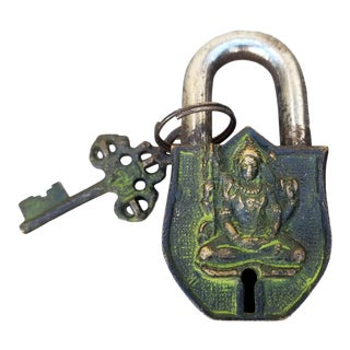 Buddha Bronze Padlock For Sale