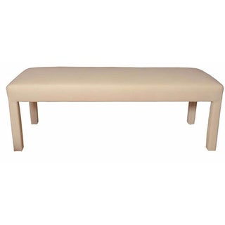 Parson's Style Bench