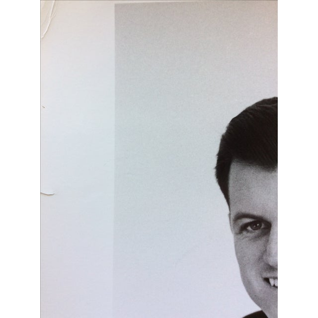 Original Ted Kennedy Photograph by Jacques Lowe Stamped For Sale - Image 4 of 5
