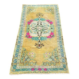 Vintage Anatolian Bed Mat For Sale