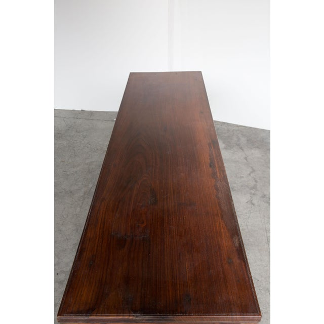 Antique Anglo-Indian Rosewood Bench - Image 5 of 7