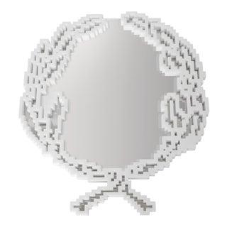 """Michele Chiossi Italian Marble Mirror - 39.4"""" For Sale"""