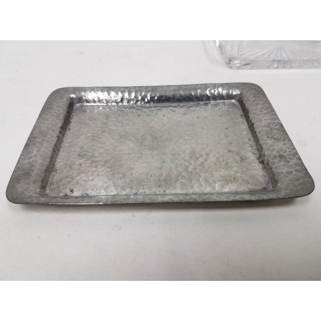 Antique English Pewter Sardine Dish For Sale - Image 9 of 11