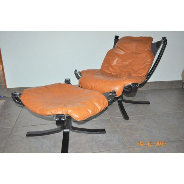 Falcon Chair and Ottoman Set - Image 7 of 8