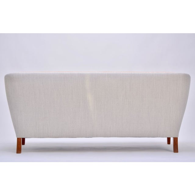 Gray 3-Seater Sofa by Ludvig Pontoppidan, 1940s For Sale - Image 9 of 11