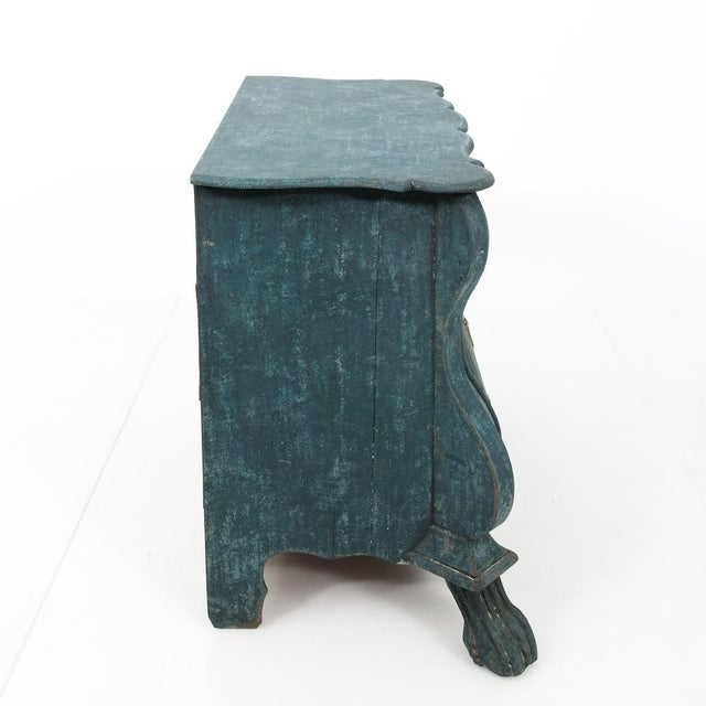 Dutch Blue Bombay Commode For Sale - Image 9 of 11