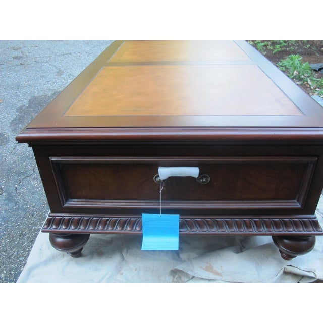 Ethan Allen Morley Coffee Table For Sale In New York - Image 6 of 8
