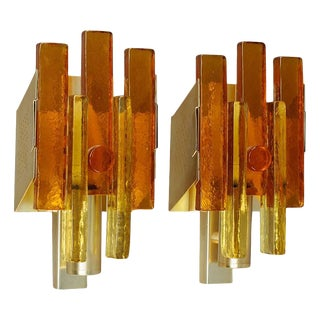 Pair of Wall Lights Svend Aage Holm Sorensen Attributed For Sale