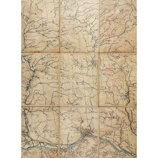 Little Falls New York 1900 Us Geological Survey Folding Map For Sale