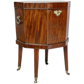 George III Mahogany Celleret For Sale