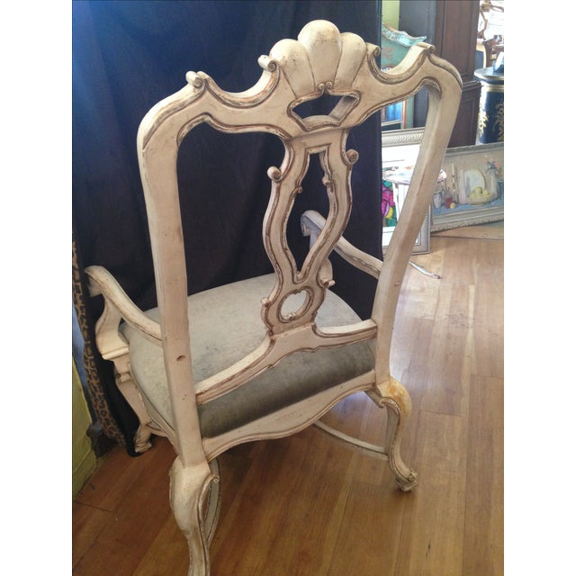 Carved Italian Armchairs - A Pair - Image 6 of 9