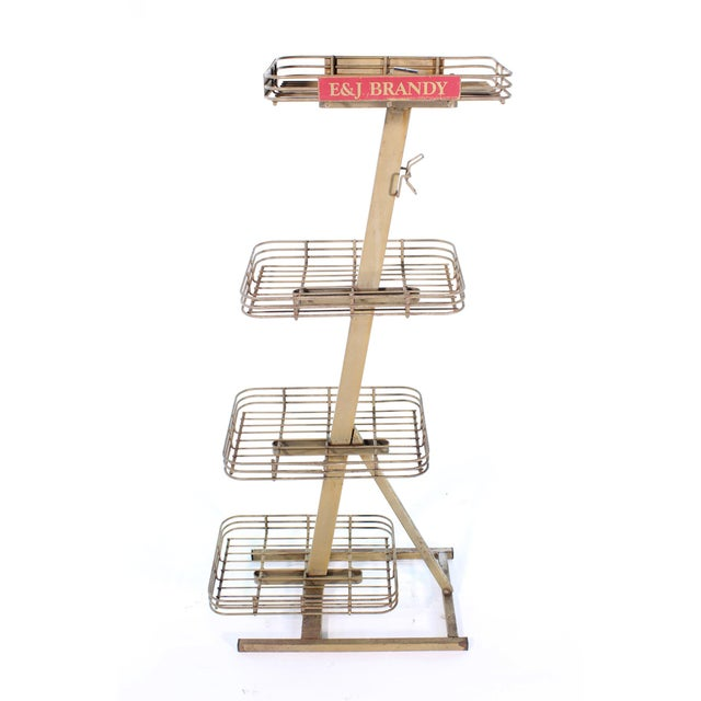 Mid 20th Century E&j Brandy Advertising Stand For Sale - Image 5 of 13