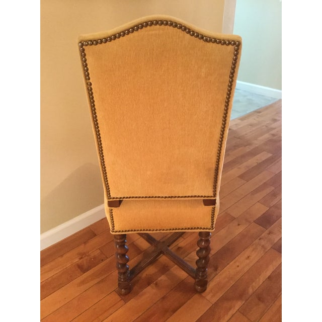 French Vintage Dining Chairs - Set of 8 - Image 5 of 11