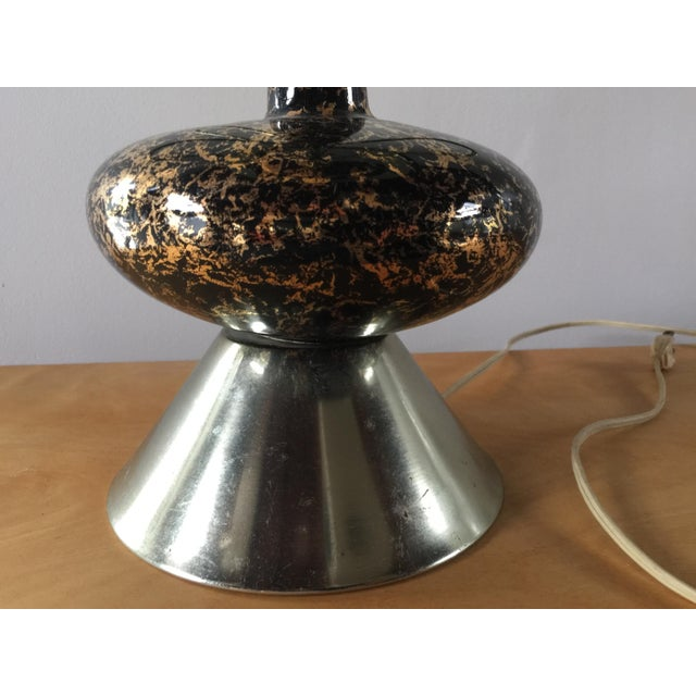 Mid-Century Modern Atomic Age Sputnik Table Lamp For Sale In New York - Image 6 of 10