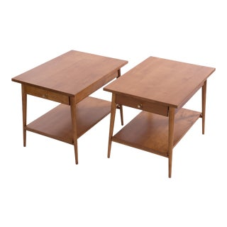1960s Mid-Century Modern Paul McCobb Planner Group End Tables - a Pair For Sale
