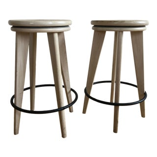 Top Stools by Altura for Dennis Miller - a Pair For Sale