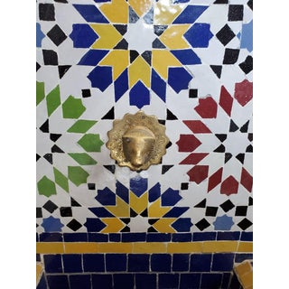 Bella Moroccan Mosaic Arched Fountain Preview