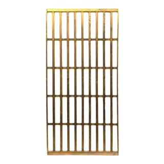 Japanese Machiya Cedar Exterior Panel/Screen For Sale