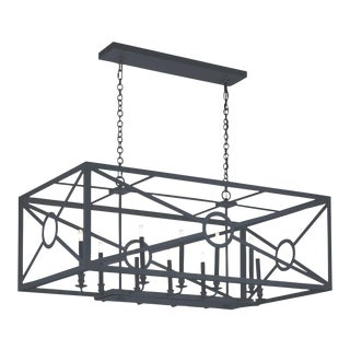 Chilton Grove Chandelier, Black For Sale
