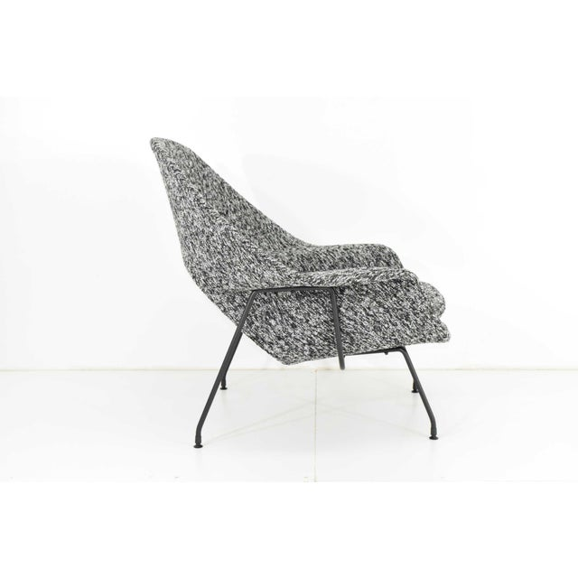 1960s Eero Saarinen for Knoll Womb Chair and Ottoman For Sale - Image 5 of 12